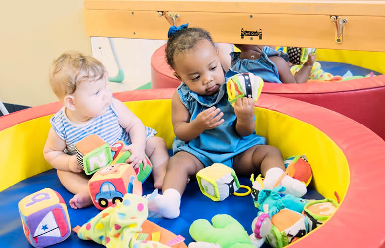 Picture of kids playing at a daycare